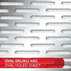 Oval Perforated Sheets
