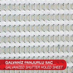 Galvanized Shutters Perforated Sheet